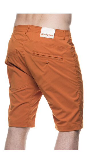 Houdini M's Thrill Twill Shorts Saddle Brown